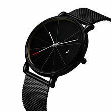 CTPOR Luxury Watches Men Black Stainless Steel High grade