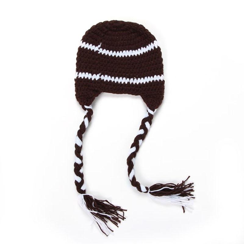 Bebé Headmade ganchillo hicieron punto gorros casquillo y sombrero ...