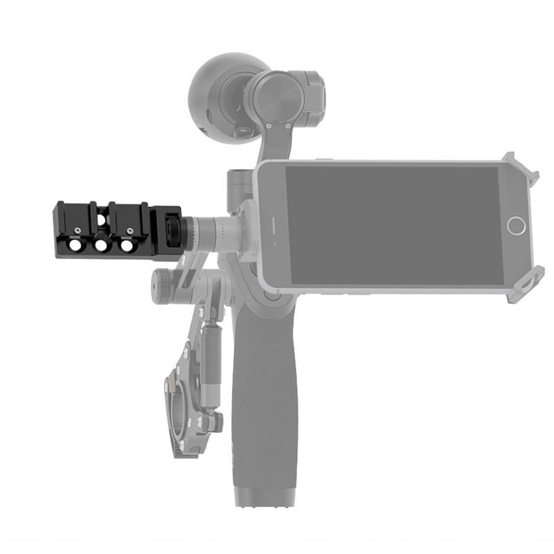 Original DJI Osmo Parts Osmo – Universal Mount Add an extra microphone or an LED light to your Osmo