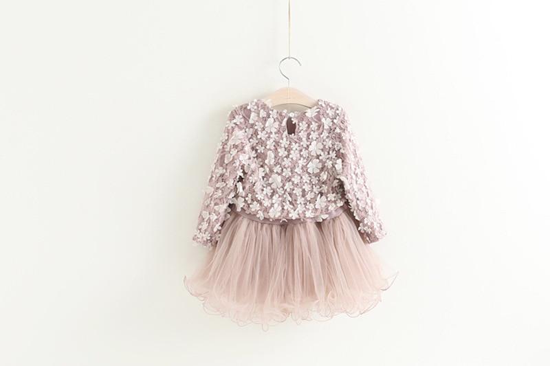 HTB16BcUD9tYBeNjSspaq6yOOFXaT Petals Designs Girl Dress Children Party Costume Kids Formal Events Vestidos Infant Tutu Flower Dress Fluffy Wedding Gown 3 5 7T