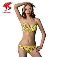 Stile di estate 2016 New farfalla Push Up Bikini Sexy Costume Da Bagno Brasiliano Costume Da Bagno Animal Halter Bikini di Vendita Caldo AL18006