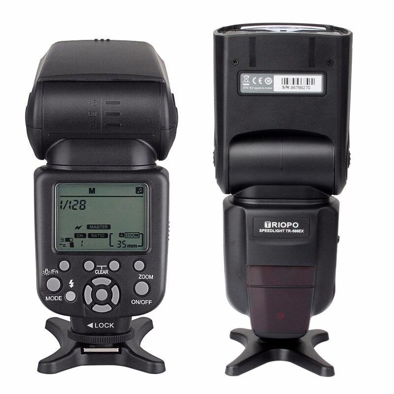 New Triopo TR-586EX Wireless Flash Mode TTL Flash Speedlight Speedlite For Canon EOS 550D 60D 5D Mark II as YONGNUO YN-568EX II
