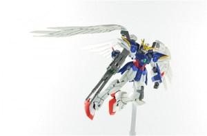 Image 4 - Bandai gundam 1/144 asa gundam zero terno móvel personalizado montar modelo kits figuras de ação brinquedos das crianças
