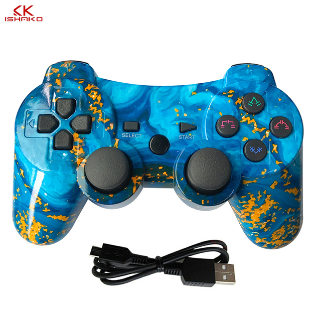 USB/Wireless PC Game Controller Gamepad Shock Vibration Joystick Game Pad Joypad Control for PC Computer Laptop Gaming Play