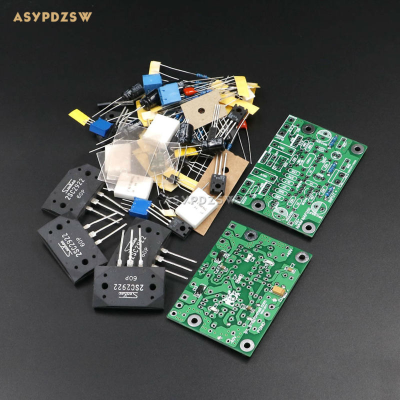 New 2 PCS NAIM NAP250 MOD 2SCS2922 MINI Stereo 2 channel Power amplifier DIY Kit