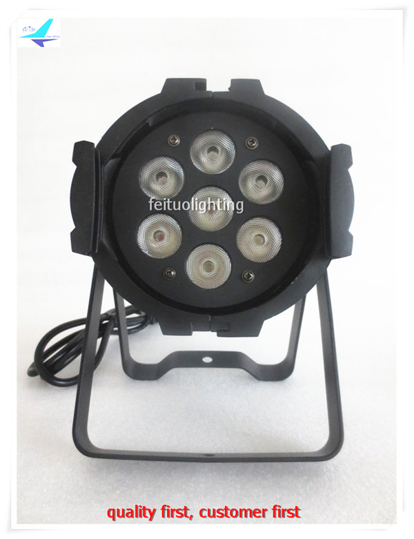 free shipping 6pcs/lot 7X15W RGBAW Beam Stage Equipment LED PAR Light 5-IN-1 Lumiere Indoor DJ Christmas Par64 Wash Can 30lot professional sound equipment led par64 light 7x18w rgbaw uv par light effect