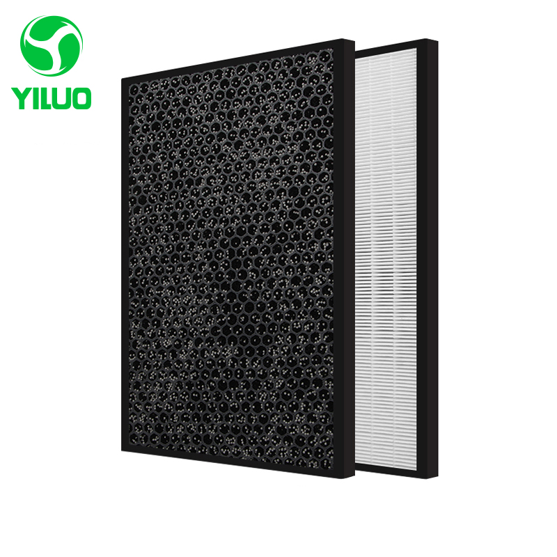 купить 358*278mm High efficiency collect dust hepa filter and activated carbon filter of air purifier parts for KJ30FE-NV etc по цене 2923.21 рублей