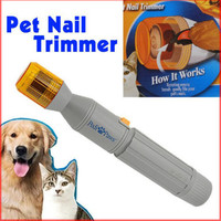 The New Pet Dog Electric Grinding Wheel A Device Supplies Manicure Scissors Pet Dogs And Cats