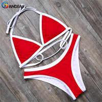 BANDEA bikini marka sexy stroje kąpielowe kobiety wysoka cut strój kąpielowy brazylijski dół strój kąpielowy jednolity strój kąpielowy dla kobiet HA500