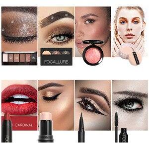Image 2 - FOCALLURE Kit doutils de maquillage professionnel, 8 pièces, pour fard à paupières, rouge à lèvres, Blush, poudre pour le visage, Eyeliner avec pochette de maquillage