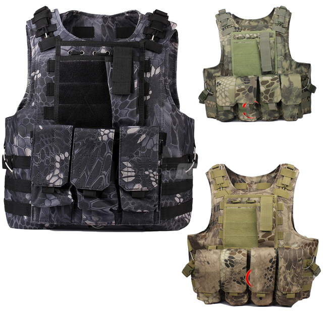 Militaire Armee reglable Veste tactique Camuflaje Chaleco Nueva tactical gear Airsoft Paintball MOLLE chaleco tattico softair tatico