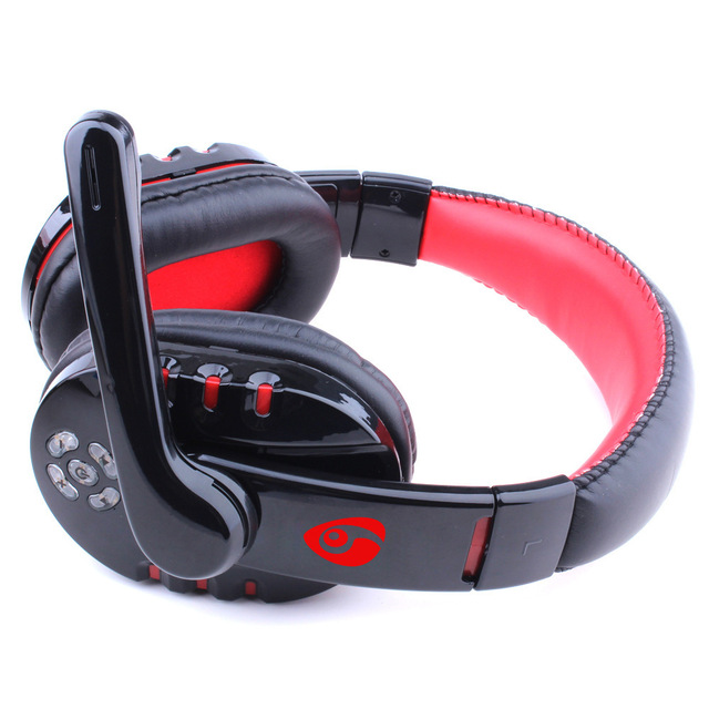 8b636890a1d21d Professionale Wireless V8 Bluetooth Gioco Cuffie Stereo Gaming Headset  Gamer Auricolare con Microfono per PS3 PC