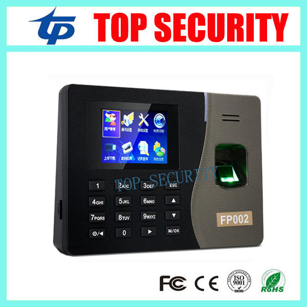Good quality FP002 biometric time recording fingerprint time attendance time clock TCP/IP biometric fingerprint reader good quality k14 zk fingerprint time attendance time clock tcp ip biometric fingerprint reader with bulit in battery