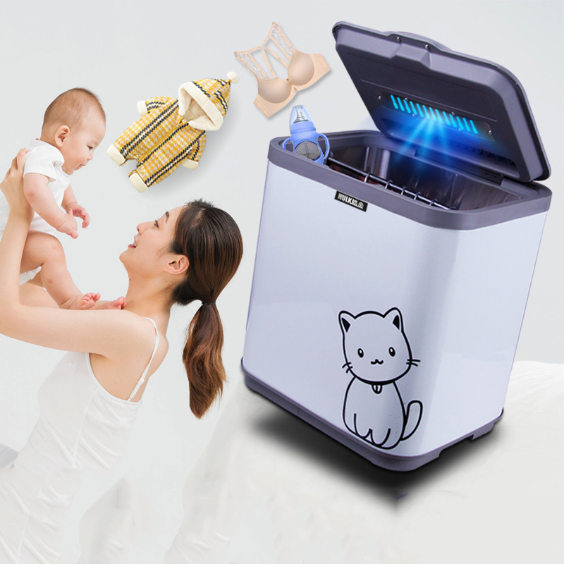 38L UV Underwear Disinfection Cabinet Baby Clothes Dryer Sterilization Clothing Sterilizer Quick-drying Mini Esterilizador Uv