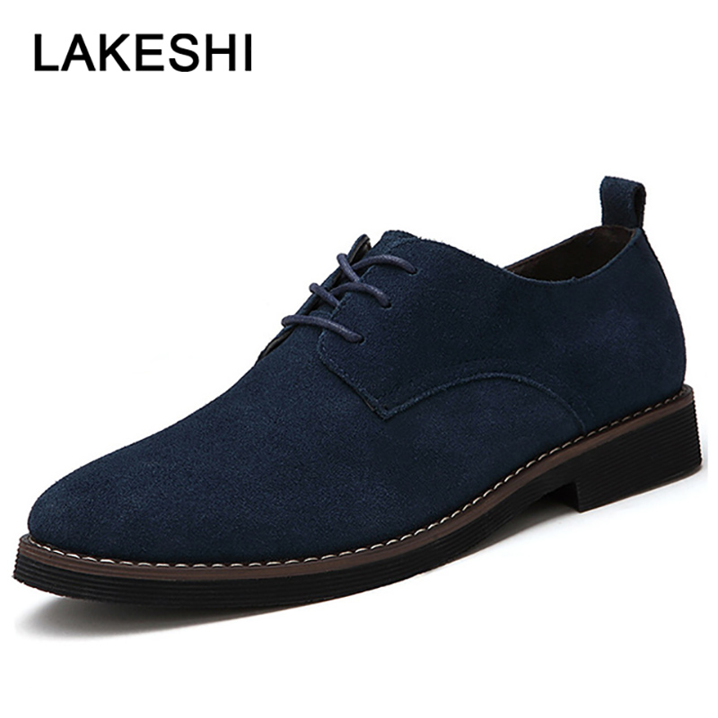 Men Shoes Oxfords Faux   Suede     Leather   Men Casual Shoes Spring Summer Fashion Oxford Shoes Men Loafers 2019 Male Shoes Adult