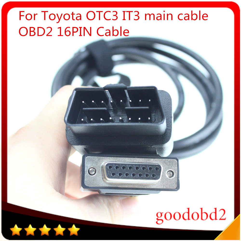 Car cable For TOYOTA IT3 OTC3 for Toyota Diagnostic Tool Tester IT 3 OTC 3 obd2 16pin to 16pin main connect cable