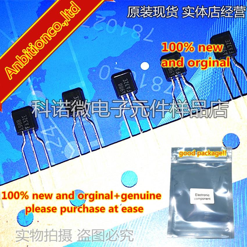 10pcs 100% New And Orginal 2SA988 A988 TO-92 PNP SILICON TRANSISTOR In Stock