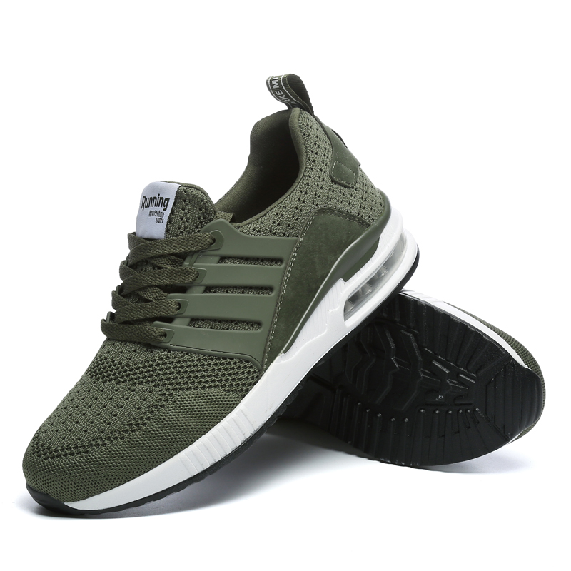 MIVNSKVE Sneakers Breath Jogging for men sports running Shoes Fly Weave Mens Trainers Walking Sport Gym Shoes Zapatillas Hombre