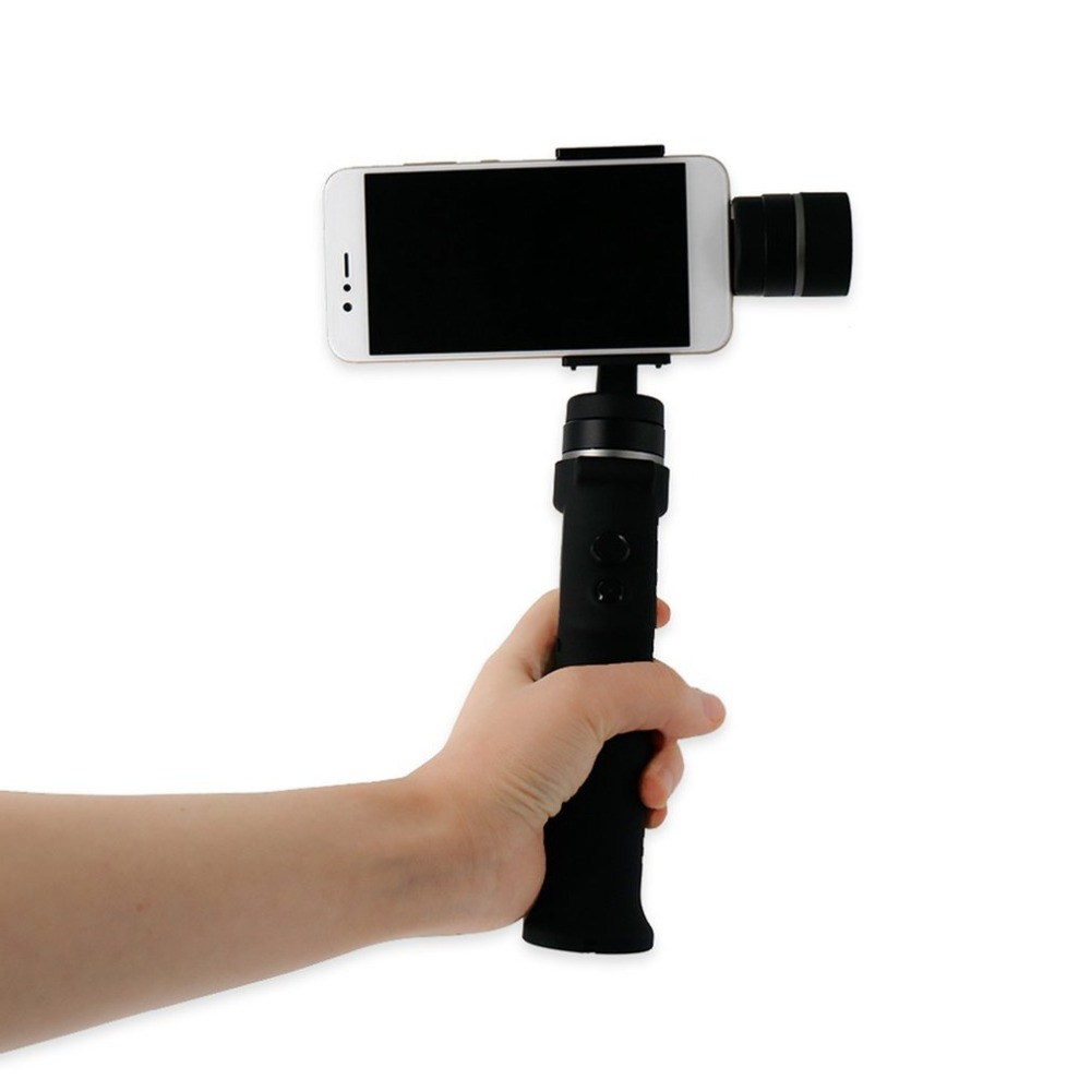 Eyemind 3-Axis Handheld Gimbal Stabilizer Integrated Face Tracking Panorama for Smart Mobile Phone iPhone Android feikuer stabilizer 2 axis brushless handheld gimbal for smart phone and iphone 6 plus
