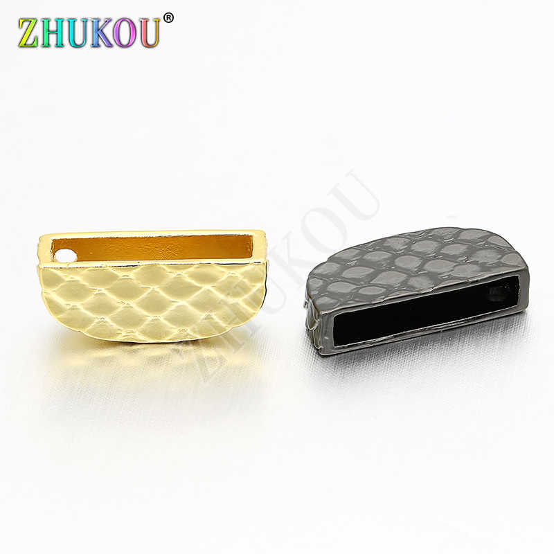 16*7mm High Quality Cubic Zirconia Clasps Hooks for Diy Jewelry Findings, Mixed Color, Model: VK13