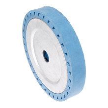 DRELD 200*40*32mm Solid Rubber Contact Wheel For Belt Grinder Sander Polishing Chamfering Grinding Abrasive