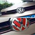 Acessórios do carro VW Logo Vinil Adesivo De Fibra De Carbono para 2014-2015 Volkswagen Golf 7