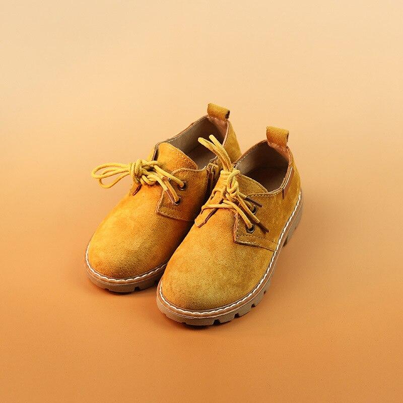 Kinderschoenen mode Britse stijl 2016 lederen casual lederen schoenen - Kinderschoenen - Foto 4