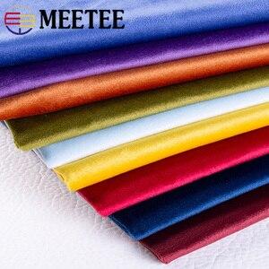 Meetee 50/100X150cm Gold Velve