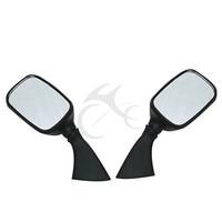 Black Side Rear View Mirrors For SUZUKI GSX1300R HAYABUSA GSXR1000 600 GSX R750 98 99 01 02 03 04 Motorcycle
