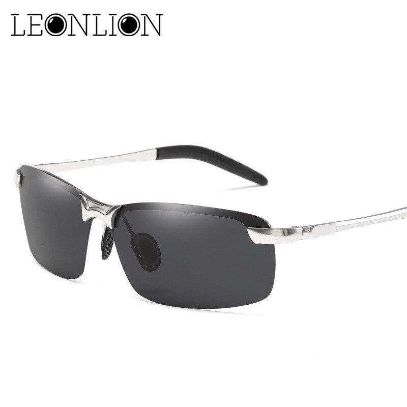 LeonLion 2018 Classique HD lunettes de Soleil Polarisées Hommes Marque  Designer Métal Lunettes de Soleil Femmes Shopping Voyage Conduite Oculos De  Sol ba9b4c09046e