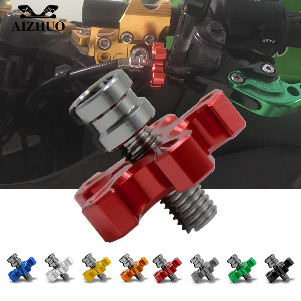 For HONDA CRF450R CRF250X CRF450X CRF230 YAMAHA WR250F WR450F WR250R/X Universal Motorcycle Aluminum Clutch Cable Wire Adjuster