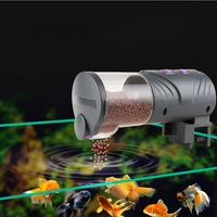 Автоматический податчик для рыбы аквариумная Золотая рыбка умный выбор времени автоматический таймер для Кормления Рыбы Еда Feeding12/24 часа в ...