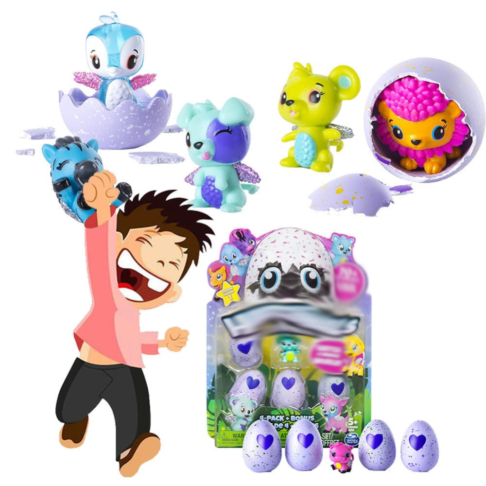 One box Magic Surprise Hatch Doll lol Season 1 2 Creative Animal Add Cracks Incubation Grow Eggs Action Figure for kids collect image