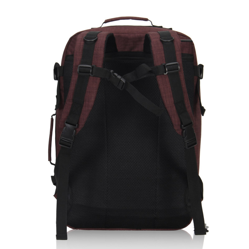 M272 Vintage Canvas Lederen Rugzakken voor Mannen Laptop Daypacks Waterdichte Canvas Rugzakken Grote Waxed Bergbeklimmen Travel Pack - 2