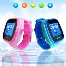 GPS Positioning Smart Kids Watch Touch Screen Waterproof Children Boy Girl Watch Luminous Silicone Watchband Monitor Wristband