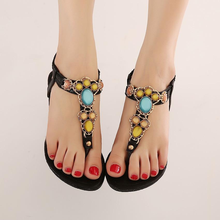 Beautiful Feet Sandals Bohemia Ethnic