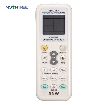 universal A/C muli 1000 in 1 air conditioner remote for GNW HW-1028E control LCD screen air conditioning remote control new image