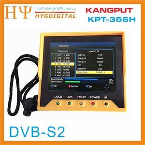 Image 3 - [Hakiki] KPT 356H 3.5 inchHandheld TFT LCD çok fonksiyonlu (DVB S/S2) dijital uydu bulucu daha iyi satelink ws 6906 6933