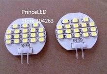 Wholesale Freeshipping, Car LED, dome Light Interior Bulbs , G4 18 SMD 3528 AC/DC 12V