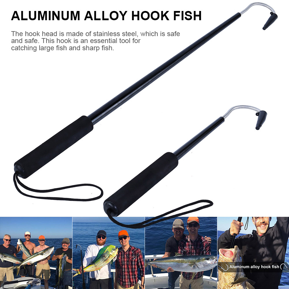 """Used to Control Hard to Handle Fish. /""""Hook-M-Up-Bridge Gaff/"""" Hook Size 14//0"""