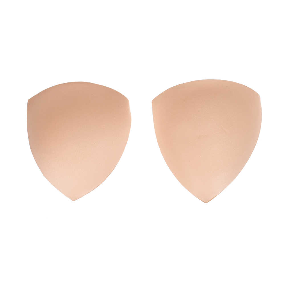 1ce95f16afe0e ... Bra Pad 1 Pair Sewing Insert Soft Sponge Cup Removable Padded 3 Colour  For Bikini Padding ...