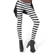 Women Fashion Zebra Printed Stretch Leggings Summer Workout pants Fitness Leg Wear Drop Ship