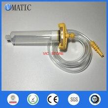 Запасных частей набор дозирования клея 5cc/ml пневматический шприц иглы шприц баррель Клапан адаптер