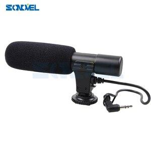 Image 3 - Mic 01 cámara profesional Micrófono estéreo externo para Nikon D7500 D7200 D5600 D5500 D5300 D5200 D3300 D810 D750 D500 D5 D4