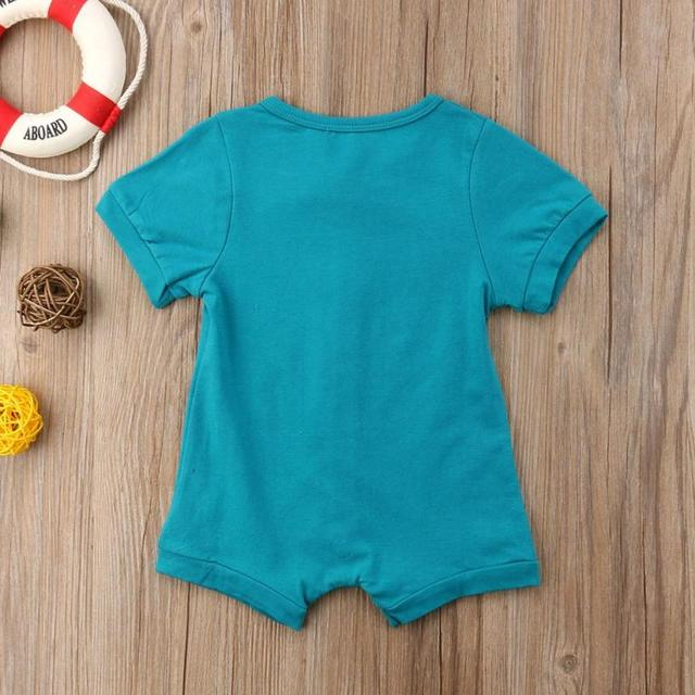 Baby O-Neck Cotton Romper