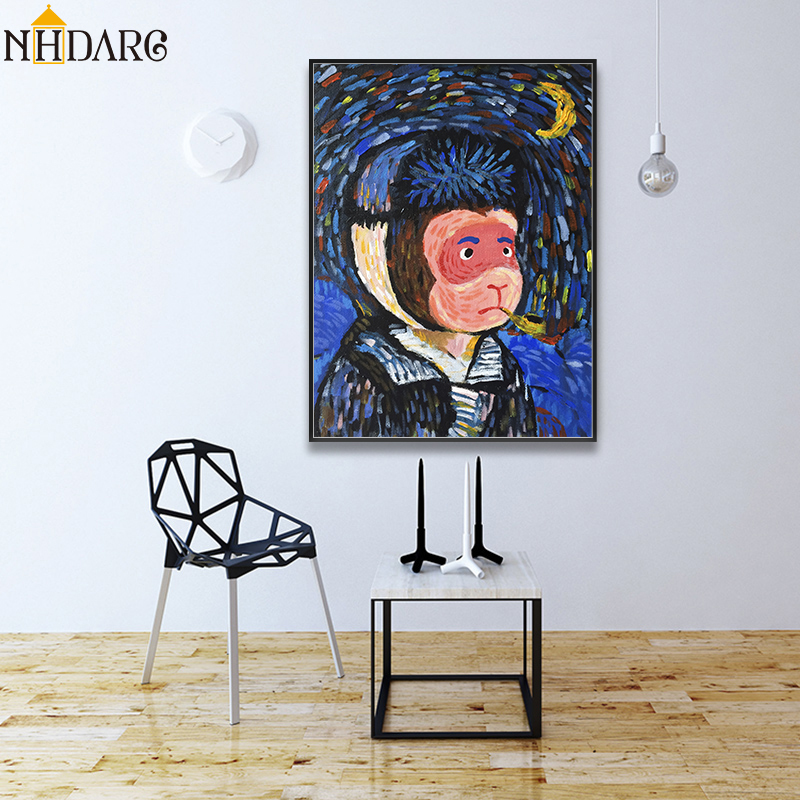 Decoración De Paredes Impresión De Arte Enmarcado Vincent