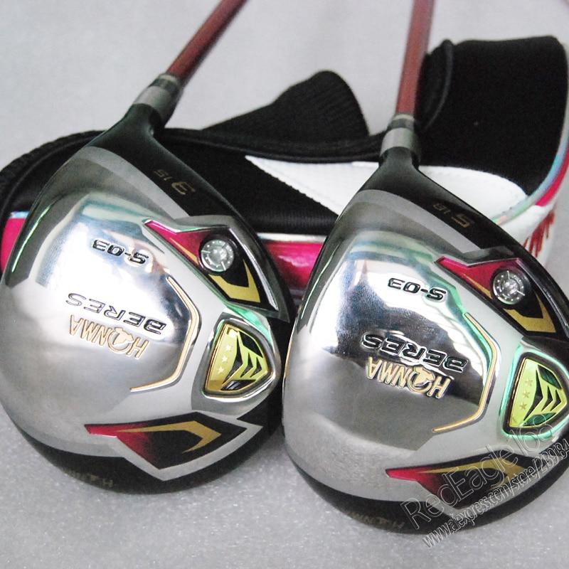 Cooyute Nya kvinnors golfklubbar HONMA S-03 3/15 5/18 Golf fairway - Golf - Foto 2