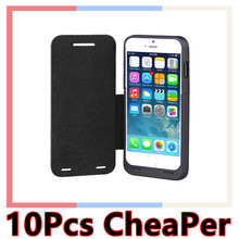 High capacity 3000mAH cell phone cases Flip Cover Power bank Battery Charger Case Battery case for