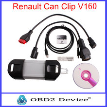 For Version V160 Renault Can Clip Professional Diagnostic Tool Supports Multi-Language For Renault Can Clip car Scanner tools