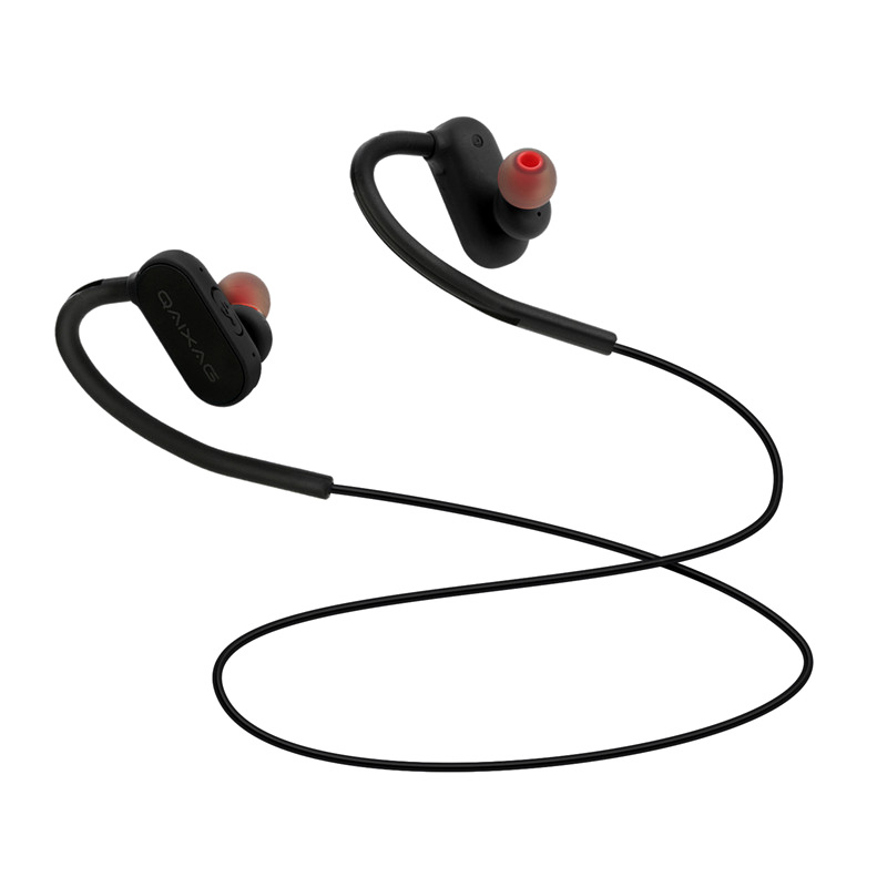 Full Range Of Specifications And Sizes And Great Variety Of Designs And Color Considerate Qaixag Ax-10 Wireless Bluetooth Headphone Portable Sport Music Stereo Headset With Mic Led Bluetooth 4.2 Hook Headphone For Io Famous For High Quality Raw Materials